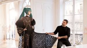 Riccardo Tisci Gives <b>Hatsune Miku</b> an Haute Couture Makeover ...