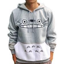 Factory <b>Sale Cartoon</b> Totoro Women man couple Hoodies ...
