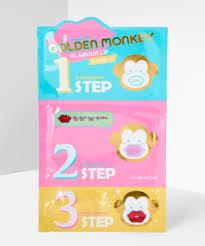 Holika <b>Holika Golden Monkey Glamour</b> Lip 3-Step Kit at BEAUTY BAY