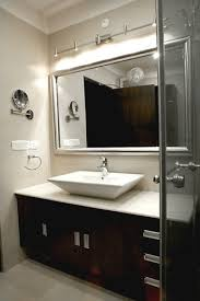 bathroom wall track lighting above mirror bathroom track lighting
