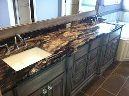Titanium Granite Kitchen Coffee Brown Suede Leathered Granite From India Rustic By Design