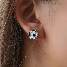 <b>New Arrival</b> Fashion Sports Style Earrings Personalized Gorgeous ...