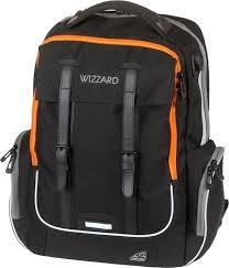 Школьный <b>рюкзак Walker Walker Wizard Academy</b> Черный меланж