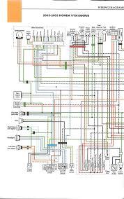 honda vtx schematics 2002 2003 honda vtx 1800 r s left page