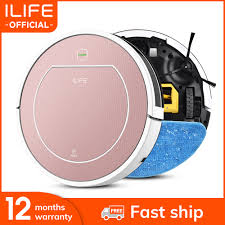 <b>ILIFE V7s Plus</b> Robot Vacuum Cleaner Sweep and Wet Mopping ...