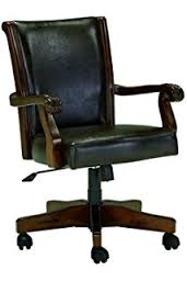 signature design by ashley alymere home office swivel desk chair vintage brown alymere home office desk