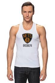 Майка классическая <b>Brooklyn Nets</b> #648863 по цене 678 руб. в ...