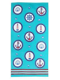 <b>Махровое полотенце Регата</b> 60*120 аква