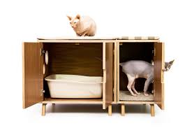 mid century modern cat litter box furniture large cat litter box cover dog cat house walnut side table modular cabinet set cat litter box furniture 2