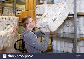 moers trainee warehouse clerk stock photo royalty moers trainee warehouse clerk