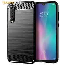 <b>LEEHUR</b>-<b>Carbon-Fiber</b>-TPU-Phone-Case-for-Xiaomi-Mi-9-SE-Black