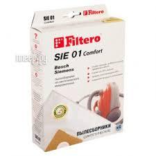 Купить <b>Мешок</b>-<b>пылесборник Filtero SIE 01</b> Comfort (4шт) по ...