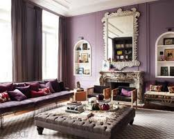 chic living room dcor: decorating smooth and pastel violet living room design with shabby chic living room furniture violet