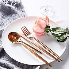 Buy Pinkdose® Best <b>Hot Sale</b> 4 <b>Pcs</b>/<b>Set</b> Rose Gold Color ...