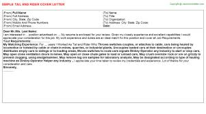end rider cover letter tail end rider cover letter how do i end a cover letter