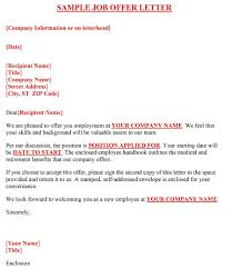 fantastic offer letter templates employment counter offer job offer letter 18