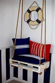 20 exceptionally creative ideas on beautiful furniture made out of upcycled pallets homesthetics 15 nautical themed porch swing beautiful wood pallet outdoor furniture
