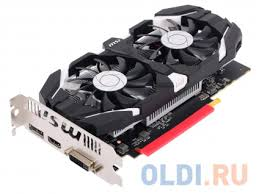 <b>Видеокарта MSI GeForce GTX</b> 1050 Ti 4GT OC 4Gb 1341Mhz ...