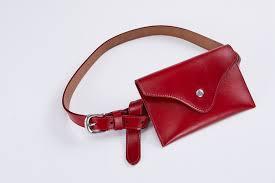 <b>Fashion</b> New Oil <b>Genuine Leather</b> Simple Waist Bags Designer ...