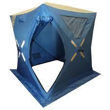 <b>Зимняя</b> 1 местная <b>палатка куб Woodland</b> Ice Fish 2 New (синий ...