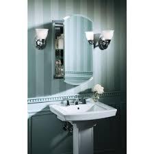 Recessed Bathroom Mirror Cabinets Bathroom Recessed Medicine Cabinet Mirror Mirrored Medicine