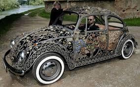 Ornate VW Bug : pics via Relatably.com