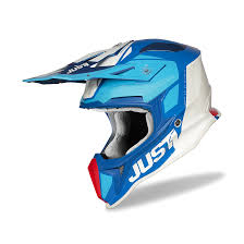 Just1 <b>J18</b> Pulse MX Helmet Blue-Red-White - Buy now, get 31% off ...