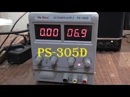 обзор на лабораторный <b>блок питания</b> YaXun PS <b>305D</b> - YouTube