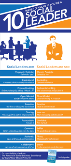 ways to know if you re a social leader infographic the 10 ways to know if you re a social leader infographic the huffington post