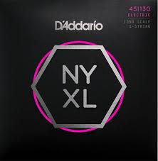 <b>Струны</b> для бас-<b>гитары D'Addario NYXL45130</b> 45-130: купить в ...