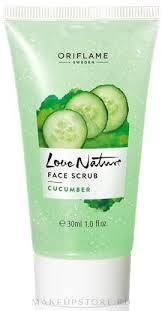 Oriflame Love <b>Nature</b> Cucumber Face Scrub - <b>Скраб для лица</b> ...