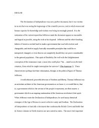 the declaration of independence environmental studies essay    the declaration of independence essay example