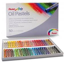 <b>Pentel Пастель масляная</b> Arts 50 цветов (PHN4-50) — купить по ...