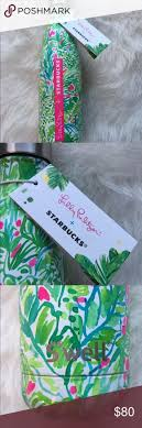 best ideas about starbucks hours seo services lilly pulitzer swell starbucks insulated cup nwt