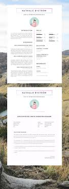 best ideas about creative cv template creative cv template reacutesumeacute template for word cover letter advice 1 2 page cv templates included instant mac or pc compton