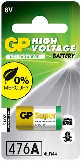 """<b>Батарейка</b> высоковольтная """"<b>GP</b> Batteries"""", тип 476А, 6В"""