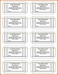 "7+ Free Printable Raffle Tickets Template | SOP Templates PDF 7 photos of the ""7+ Free Printable Raffle Tickets Template"""