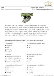 PrimaryLeap.co.uk - Reading comprehension - I am a bat (short text ...PrimaryLeap.co.uk - Reading comprehension - I am a bat (short text) Worksheet