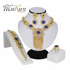 <b>MUKUN</b> African Beads Jewelry Sets for Women Fashion Wedding ...