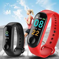 Smart Band Blood Pressure M3 Fitness Tracker Watch IP67 ...