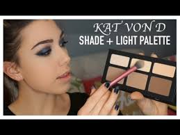 <b>KAT VON D Shade</b> + Light Contour Palette | REVIEW AND DEMO ...