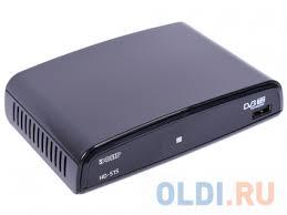<b>Тюнер цифровой</b> DVB-T2 Сигнал <b>Эфир HD</b>-<b>515</b> — купить по ...