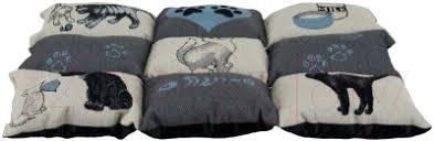 <b>Trixie Patchwork</b> 37076 (серый/голубой) Матрас для животных ...