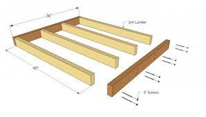 Large Dog House Plans   MyOutdoorPlans   Free Woodworking Plans    Large Dog House Plans  Flooring Frame Plans