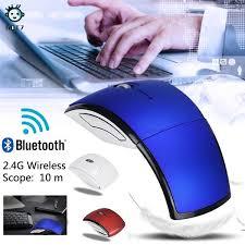 Taohua <b>2.4G Wireless Foldable</b> Folding Optical Mouse for Microsoft ...
