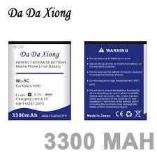 <b>Da Da Xiong</b> 3300mAh BL 5C <b>Li Ion</b> Phone Battery ForC2 06 C2 00 ...