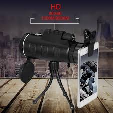 <b>40x60</b>(1500m-9500m) Military Handheld Hd <b>Monocular</b> Telescope ...