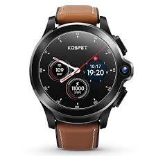 <b>KOSPET Prime Face ID</b> Dual Cameras 4G Smartwatch 1260mAh ...