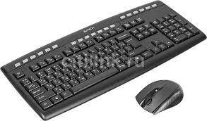 Обзор товара комплект (клавиатура+мышь) A4 <b>9200F</b>, черный ...