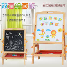 OUY <b>Children's</b> Magnetic <b>Double</b> sided Drawing Board Easel Set ...